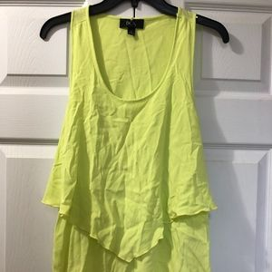 Neon Yellow Tank-Top